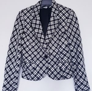 VEX Collection plaid jacket